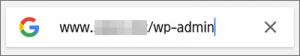 スマホの検索窓に「あなたのサイトのURL/wp-admin」を入力
